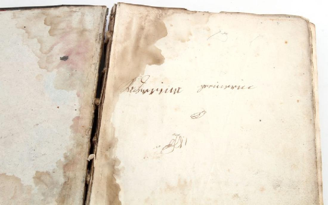 18TH CENT. HANDWRITTEN ILLUSTRATED RELIGIOUS TEXT - 3