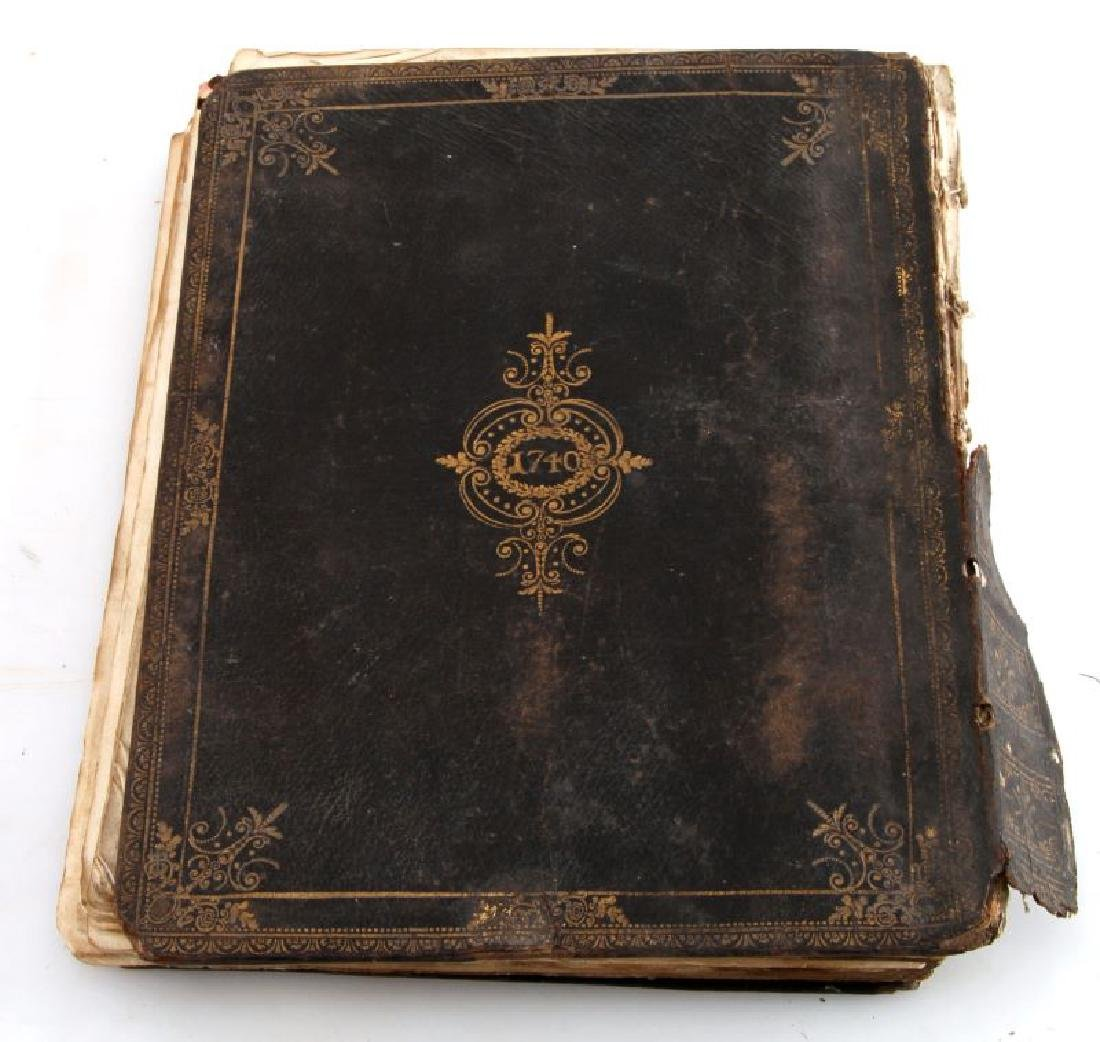 18TH CENT. HANDWRITTEN ILLUSTRATED RELIGIOUS TEXT - 6