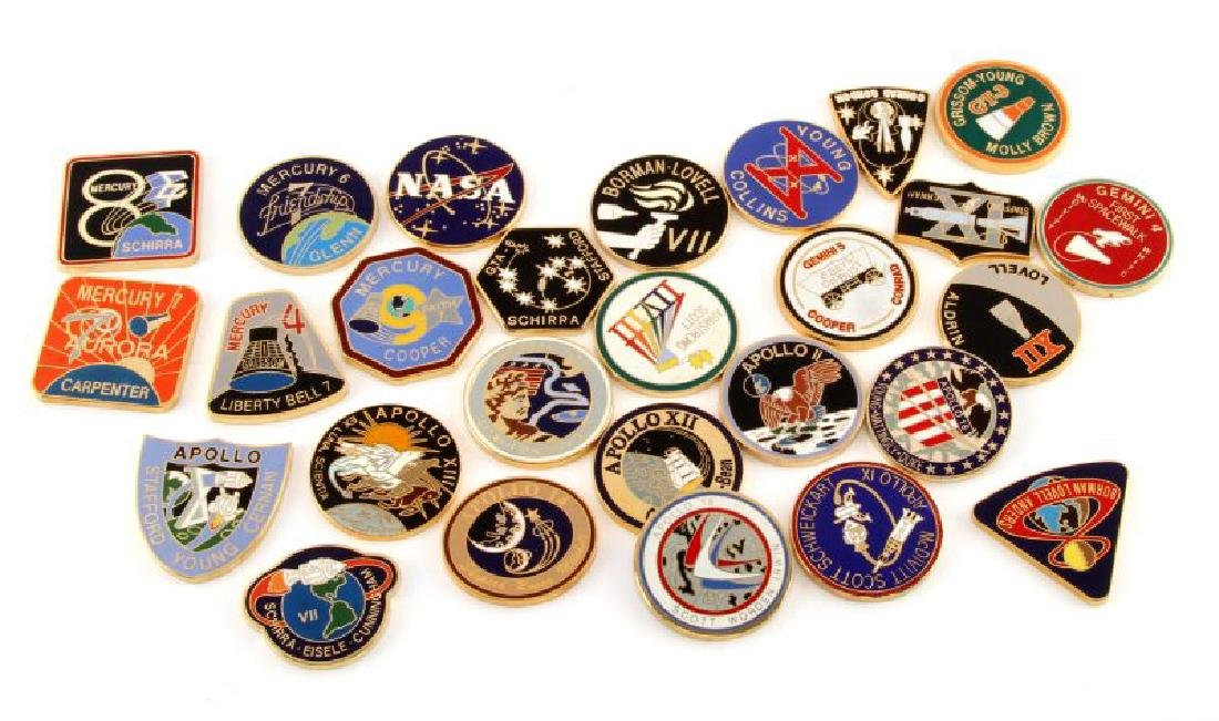NASA FLIGHT CHALLENGE COINS MERCURY GEMINI APOLLO