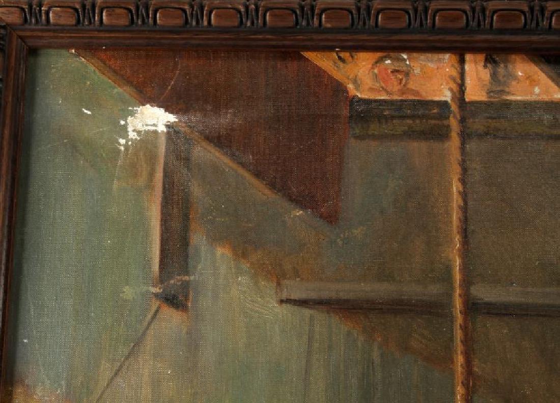OIL ON CANVAS PUBLIC HANGING JACKSON MO. 1933 - 4