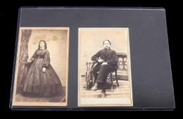 2 COOPERSTOWN NY CDV PHOTOGRAPHS OF CHILDREN