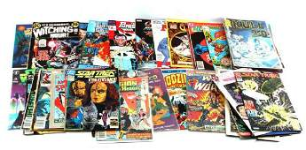LOT OF 40 CLASSIC SILVER TO BRONZE AGE COMIC BOOKS