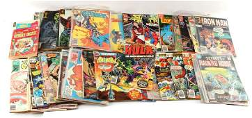 GROUPING OF 60 CLASSIC SILVER TO BRONZE AGE COMICS