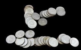 $20 FACE VALUE 90% SILVER KENNEDY HALF DOLLAR COIN