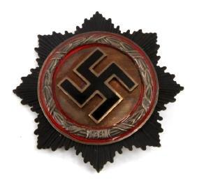 GERMAN WWII GERMAN CROSS IN SILVER