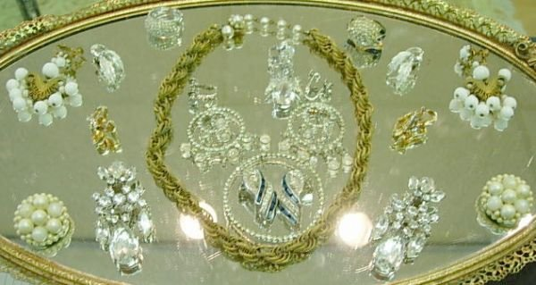 90191: VINTAGE JEWELRY LOT SIGNED HASKELL CORO BOUCHER