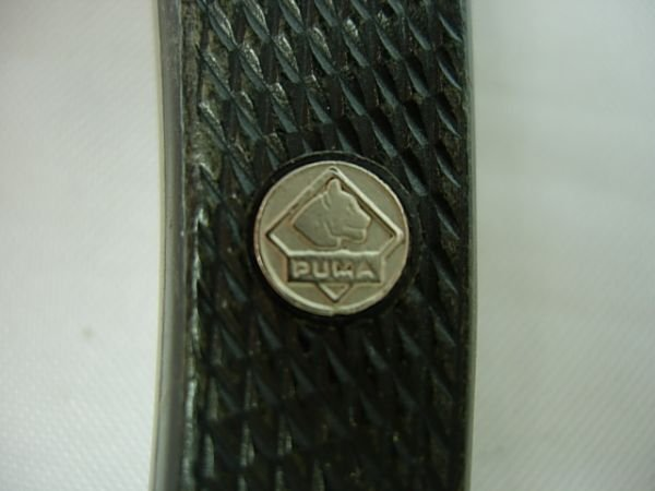 270: 3 RUSSELL LUGER PISTOL STAG PUMA POCKET KNIFE LOT - 7