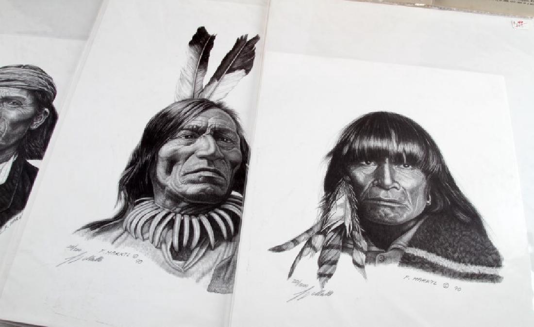 LOT NATIVE AMERICA N ART LITHOGRAPH MARKTL REISS - 5