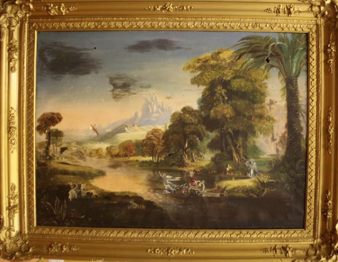 VICTORIAN FAIRYTALE PAINTING STYLE OF JOHN SIMMON