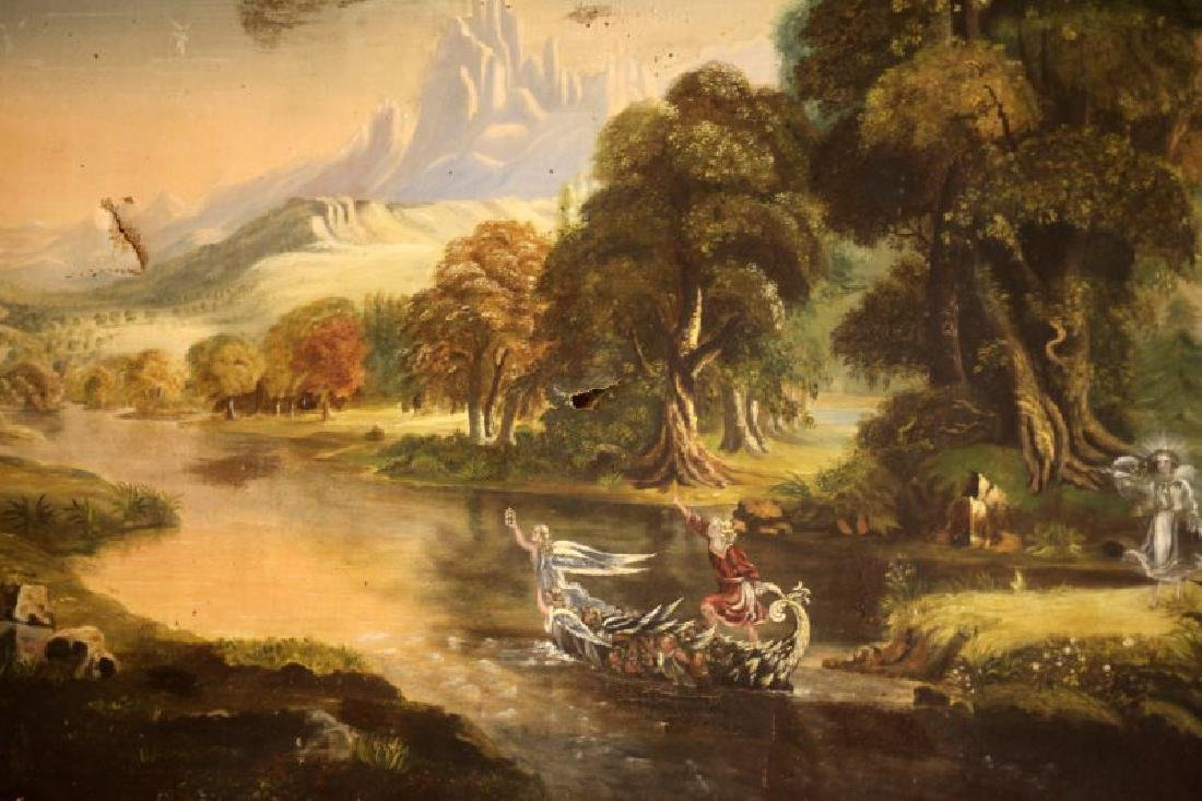 VICTORIAN FAIRYTALE PAINTING STYLE OF JOHN SIMMON - 2