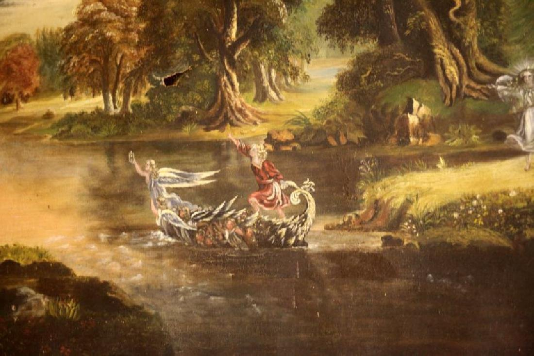VICTORIAN FAIRYTALE PAINTING STYLE OF JOHN SIMMON - 4