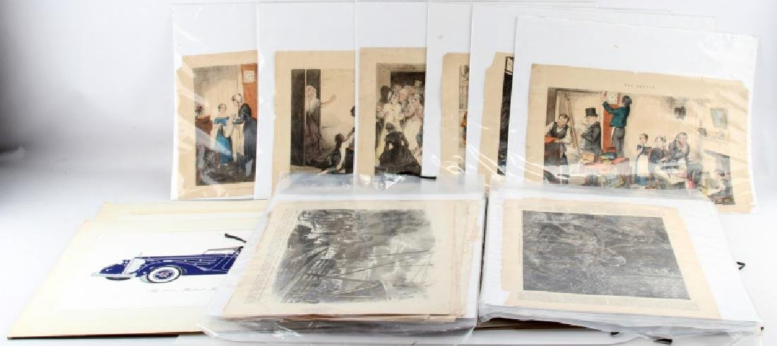 LATE 19TH & EARLY 20TH CENTURY ART PRINTS