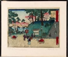 HIROSHIGE III (1842-1864) KOKON TOKYO MEISHO UENO