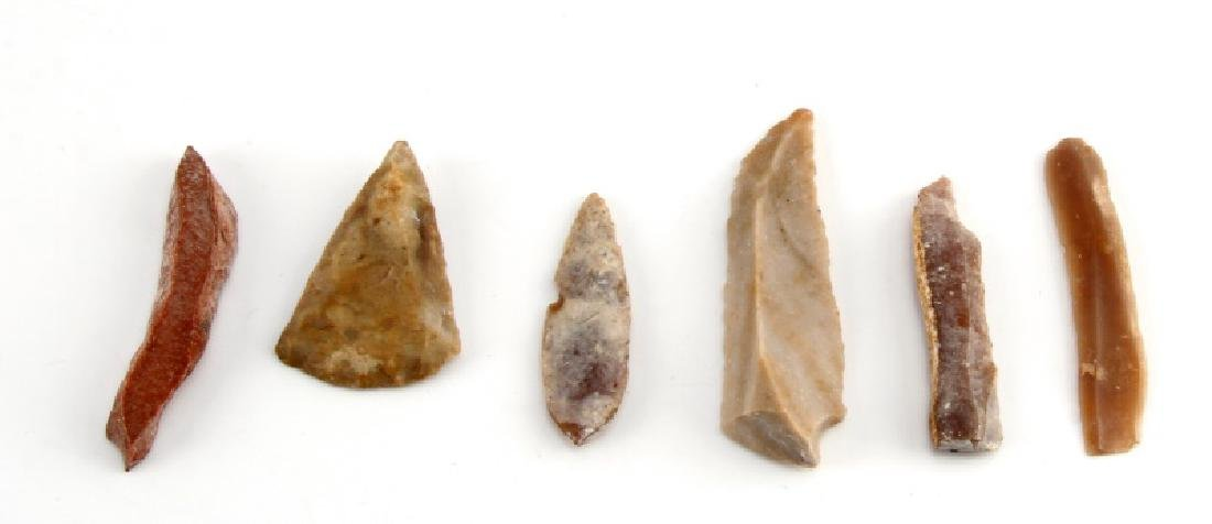 ANCIENT EGYPTIAN PRE DYNASTIC FLINT PIECES