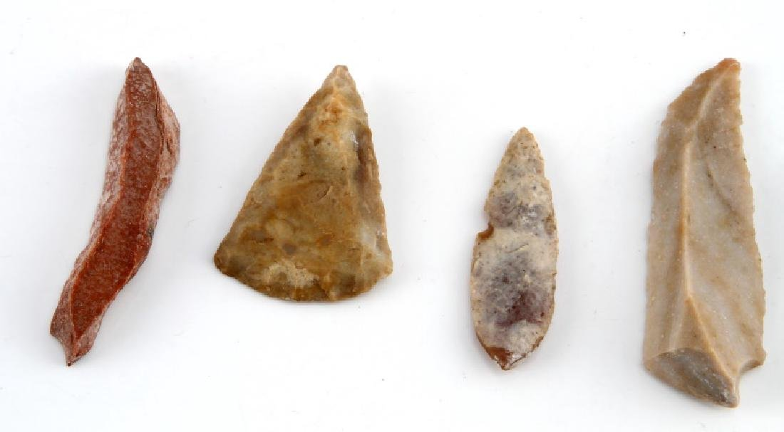 ANCIENT EGYPTIAN PRE DYNASTIC FLINT PIECES - 2