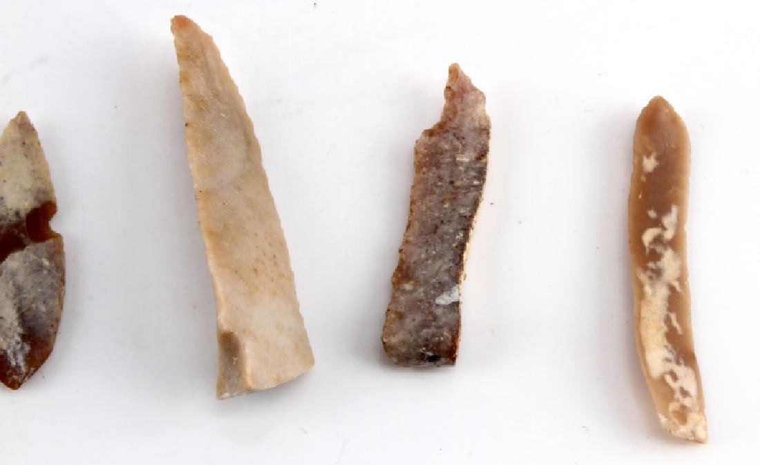 ANCIENT EGYPTIAN PRE DYNASTIC FLINT PIECES - 5