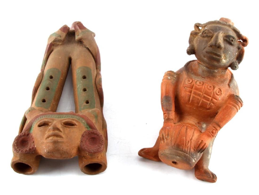 MESOAMERICAN MUSIC RELATED EFFIGY CERAMICS