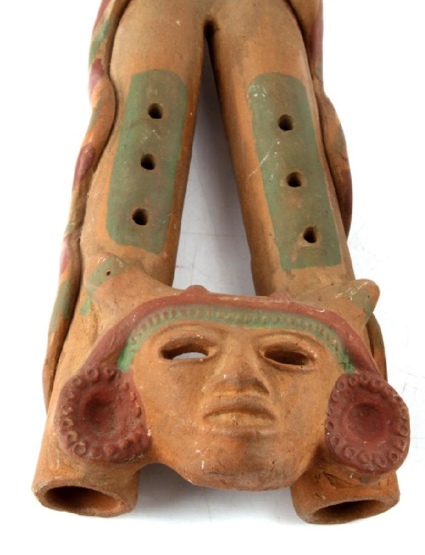 MESOAMERICAN MUSIC RELATED EFFIGY CERAMICS - 2