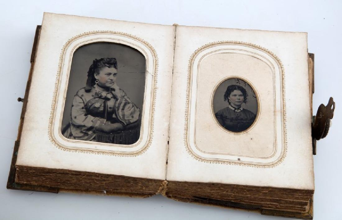 LOT ANTIQUE MINI BOOKS PHOTO ALBUM GETTYSBURG - 9