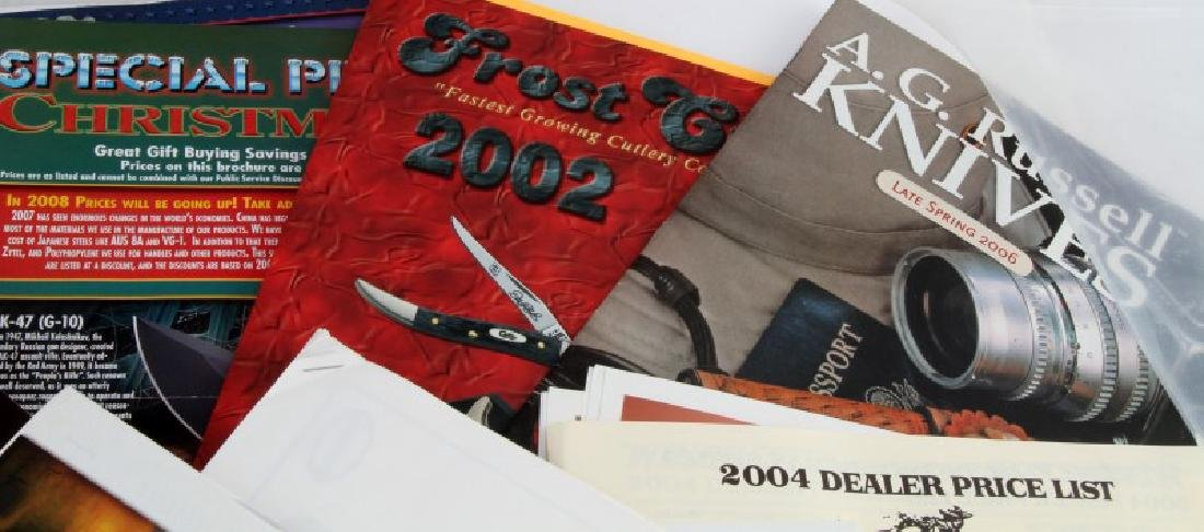 ASSORTED KNIFE & SWORDS COLLECTOR PROMOTIONS ETC - 3