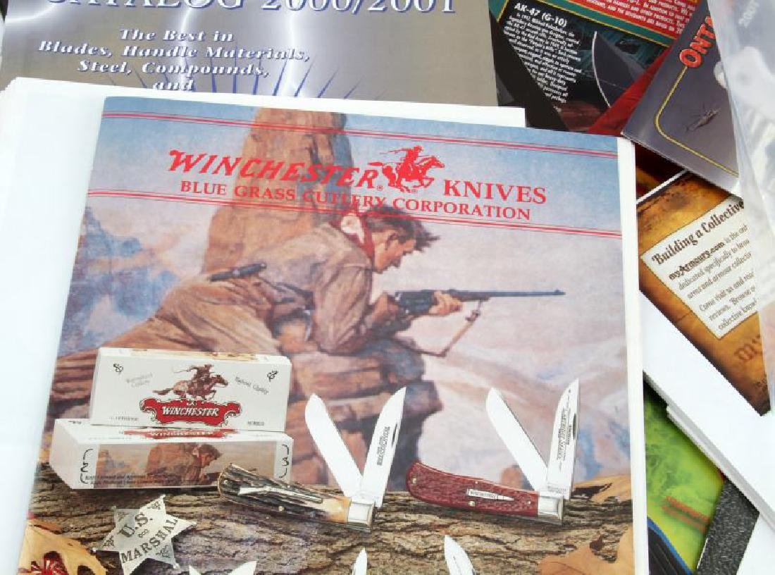 ASSORTED KNIFE & SWORDS COLLECTOR PROMOTIONS ETC - 5