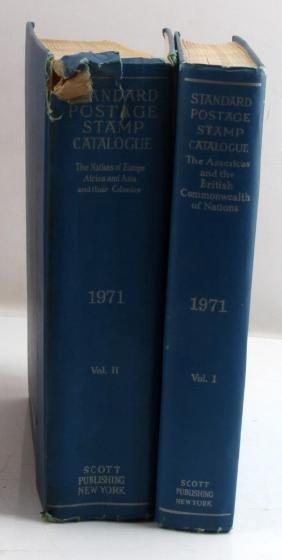 STANDARD POSTAGE STAMP CATALOGUE VOLUMES I & II