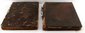 LOT OF 2 - ANTIQUE CIVIL WAR BOOKS CONFEDERATE