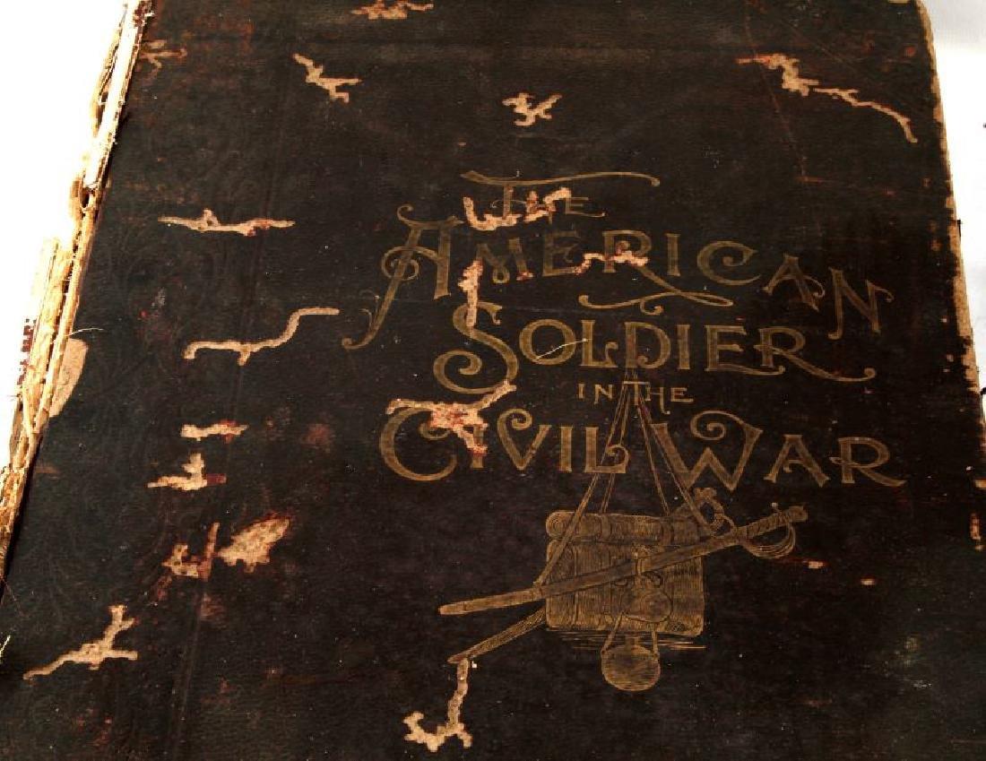 LOT OF 2 - ANTIQUE CIVIL WAR BOOKS CONFEDERATE - 2