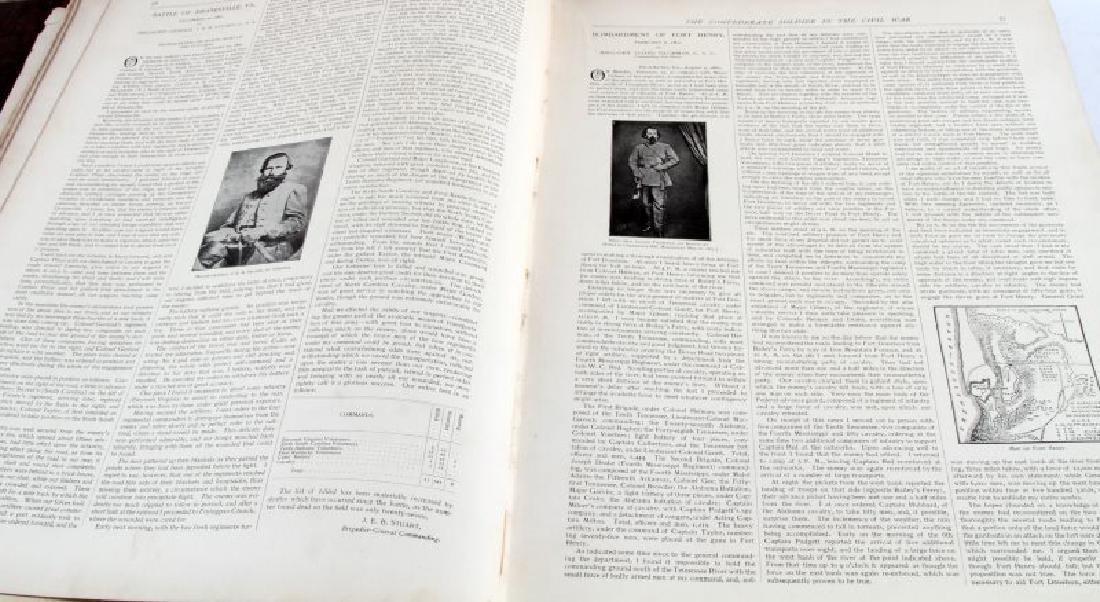 LOT OF 2 - ANTIQUE CIVIL WAR BOOKS CONFEDERATE - 4
