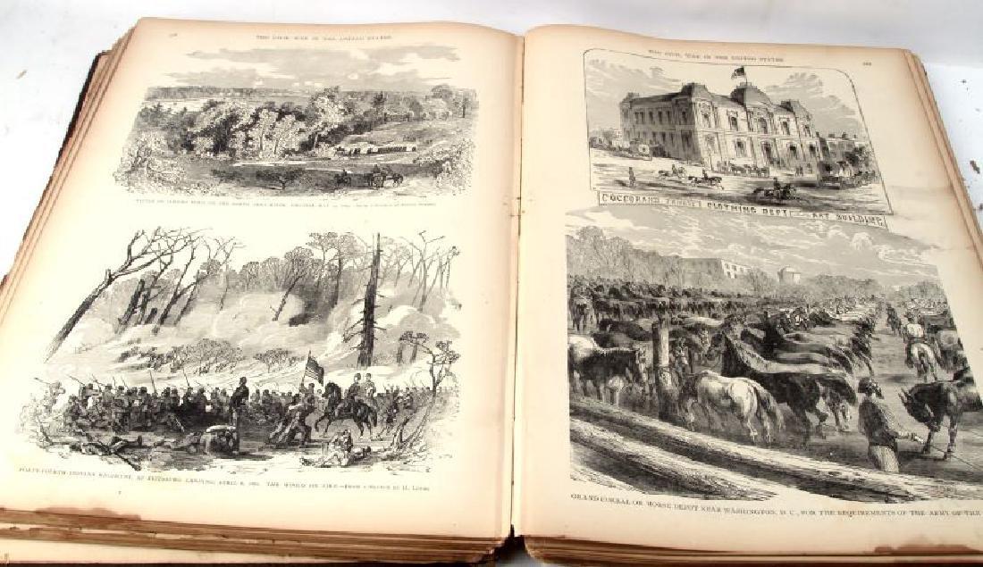 LOT OF 2 - ANTIQUE CIVIL WAR BOOKS CONFEDERATE - 8