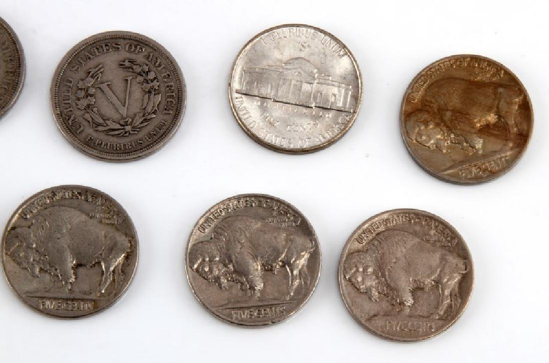 8 PIECE LOT OF ASSORTED AMERICAN NICKELS - 4