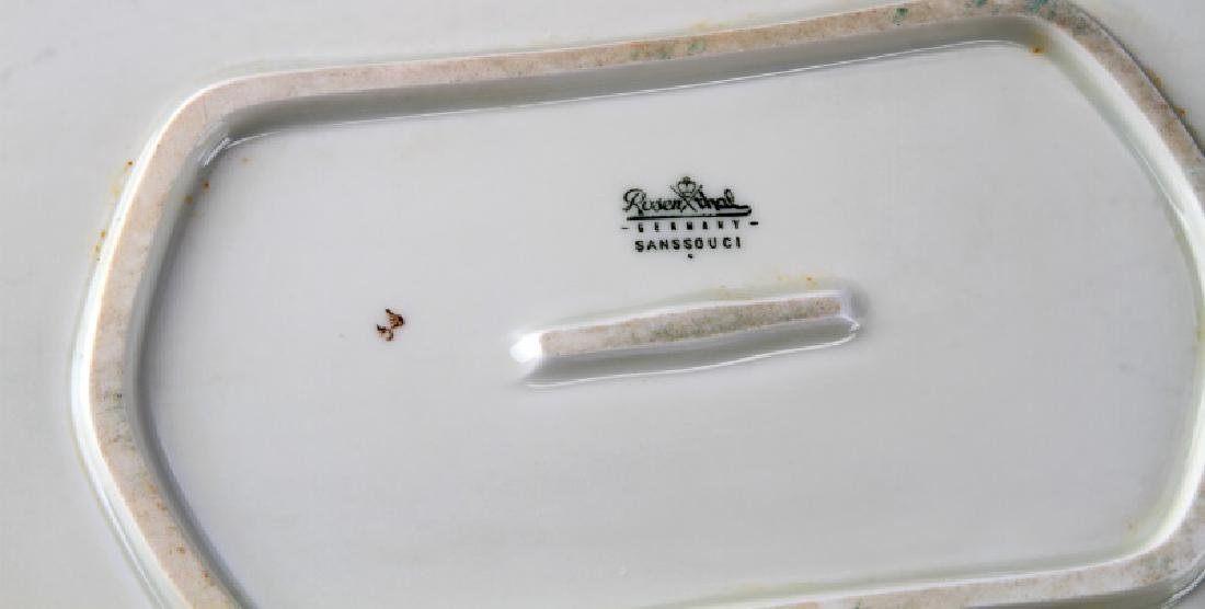 LOT ROSENTHAL CLASSIC GERMANY SANSSOUCI PLATTERS - 4