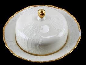 ROSENTHAL SANSSOUCI ROUND COVERED BUTTERED DISH