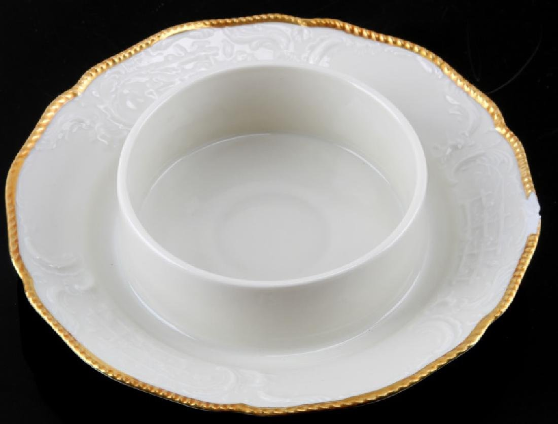 ROSENTHAL SANSSOUCI ROUND COVERED BUTTERED DISH - 2