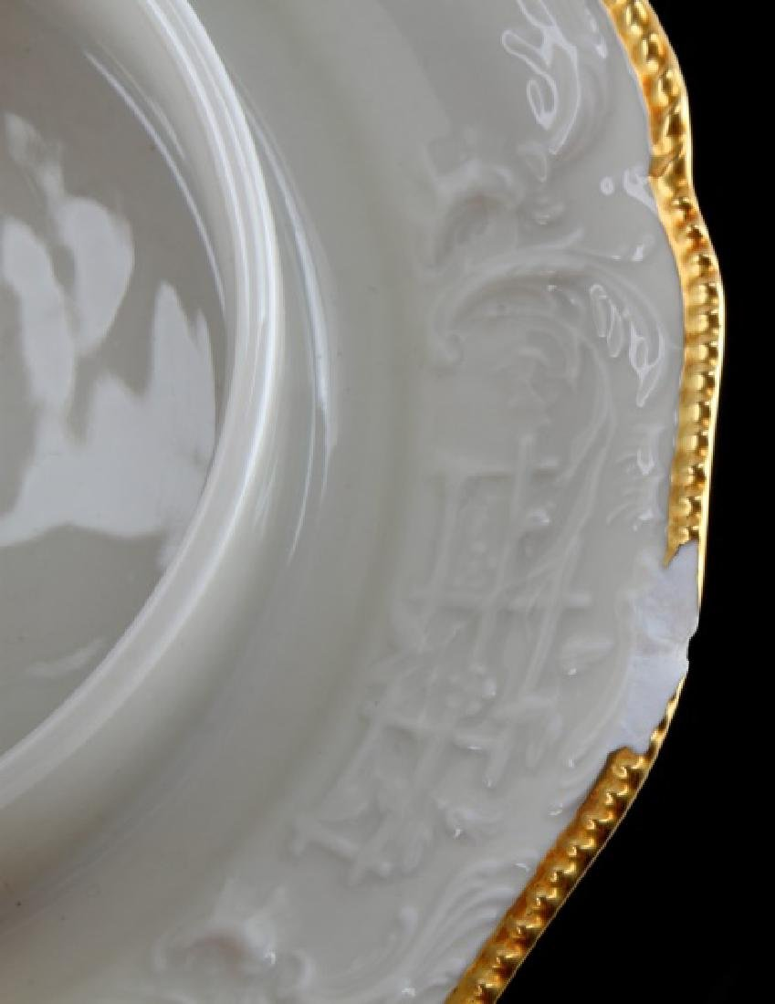ROSENTHAL SANSSOUCI ROUND COVERED BUTTERED DISH - 4