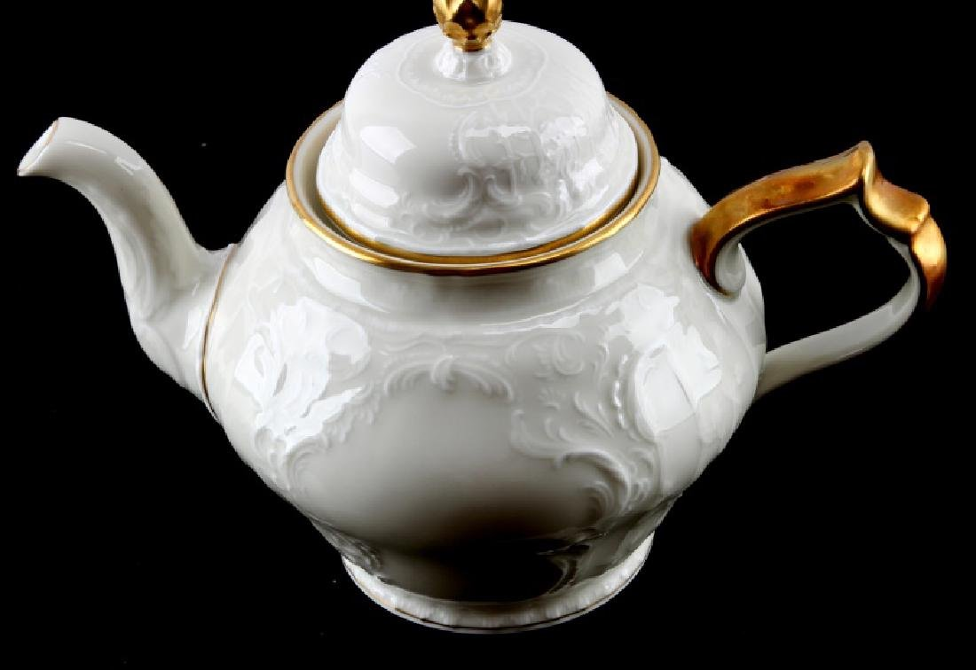 ROSENTHAL GERMANY SANSSOUCI TEA POT GOLD CHINA - 2