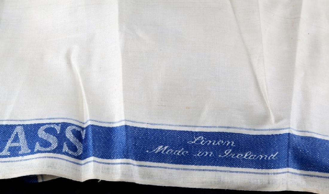 12 GLASS CLOTH MADE IN IRELAND DUPONT ESTATE - 4