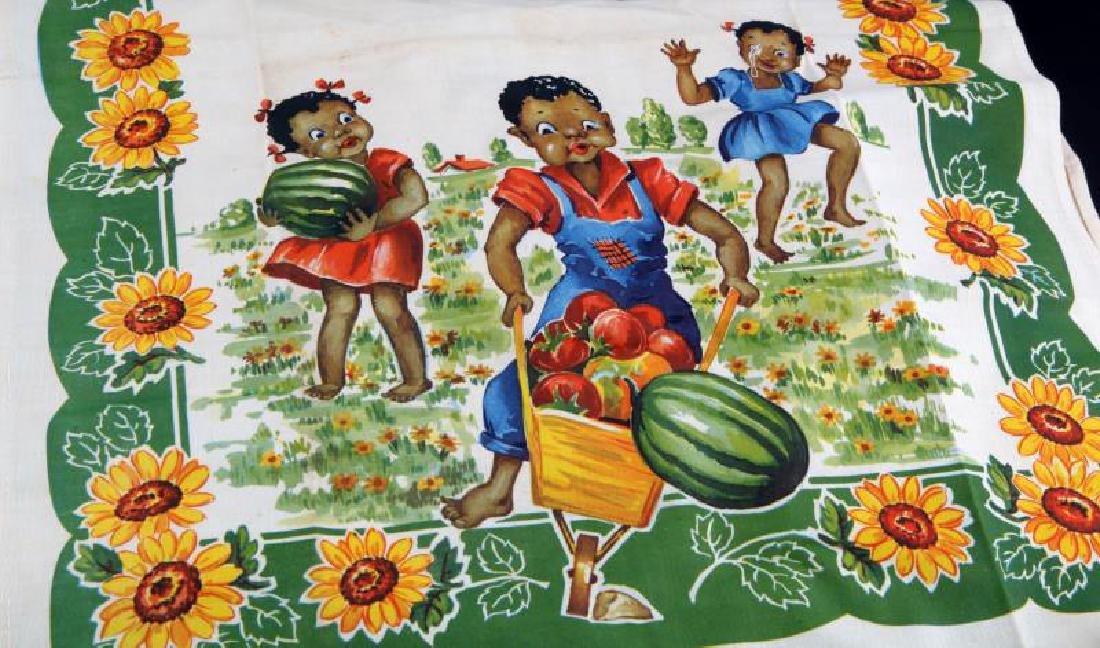 4 BLACK AMERICANA CHILDREN & WATERMELON PLACE MATS - 2