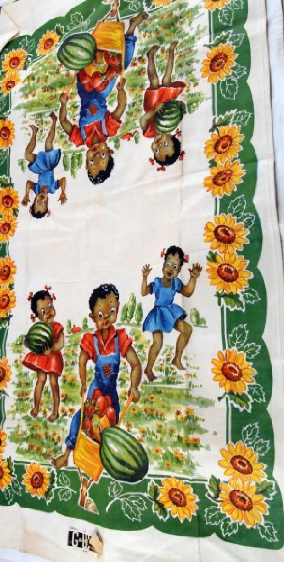 4 BLACK AMERICANA CHILDREN & WATERMELON PLACE MATS - 5