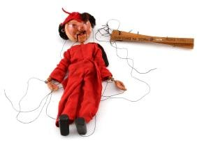 VINTAGE 1950S PELHAM PUPPET OF DEVIL OR DEMON