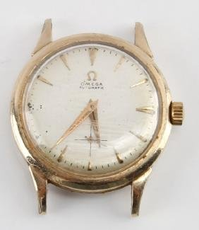 VINTAGE OMEGA AUTOMATIC WATCH CASE 10KT GOLD FILL