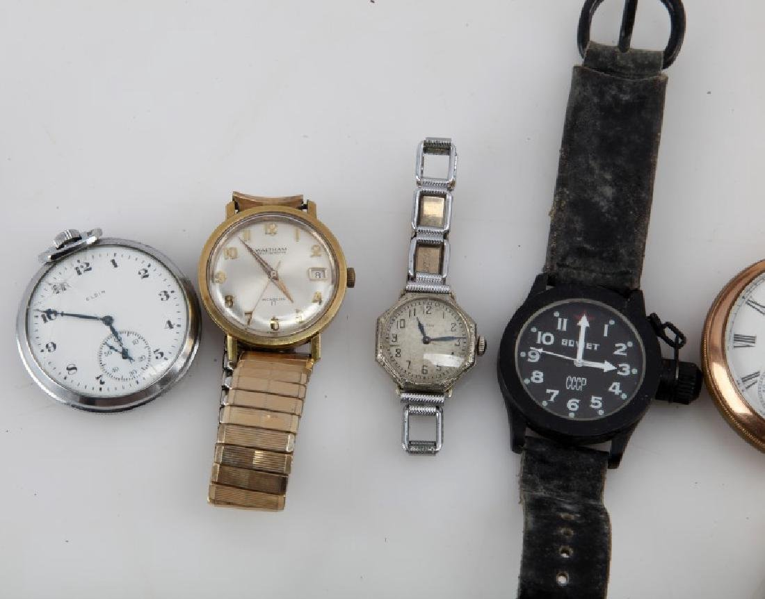 COLLECTION OF VINTAGE POCKET & WRIST WATCHES - 2