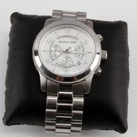 MICHAEL KORS MENS WATCH MK 8086 STAINLESS STEEL