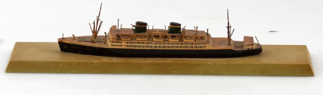 SANTA PAULA MODEL SHIP VINTAGE