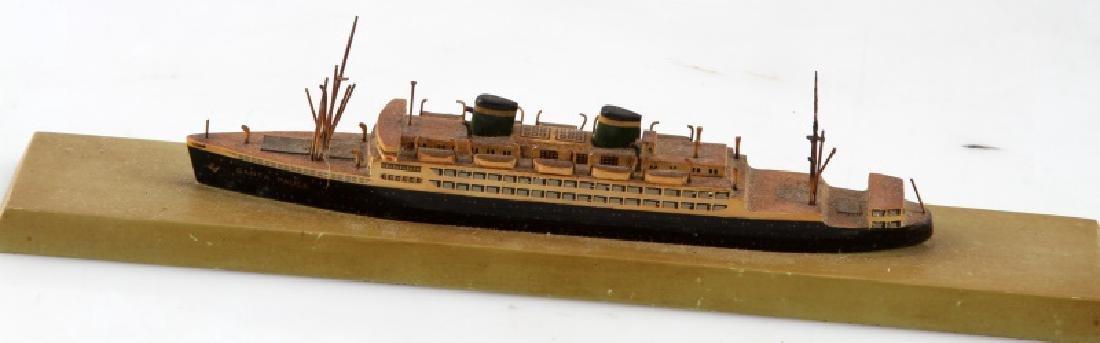 SANTA PAULA MODEL SHIP VINTAGE - 2