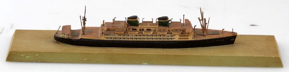 SANTA PAULA MODEL SHIP VINTAGE - 4