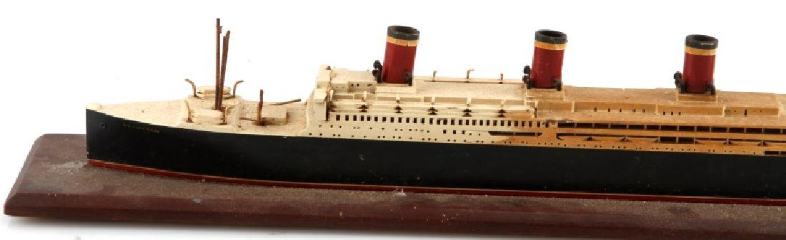 ANTIQUE LEVIATHAN SHIP MODEL - 2