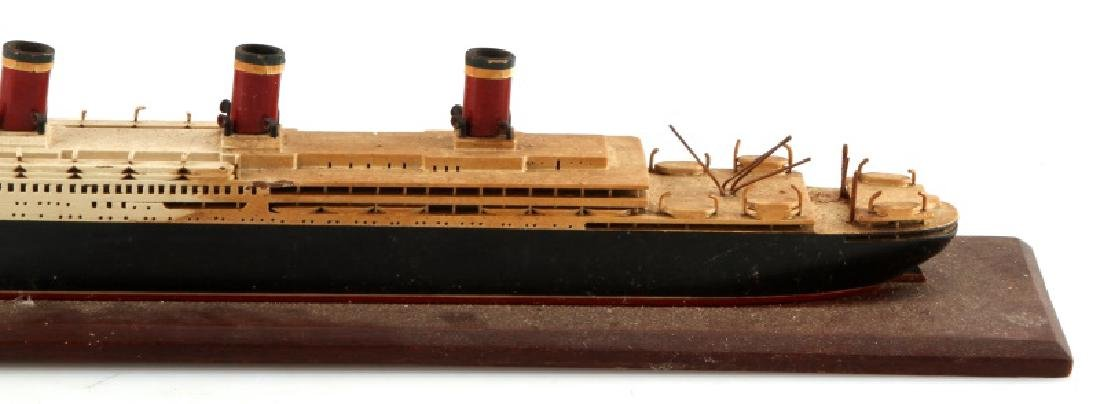 ANTIQUE LEVIATHAN SHIP MODEL - 3