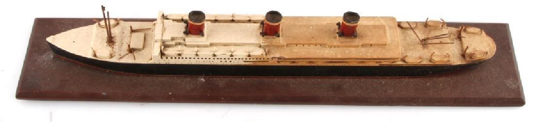 ANTIQUE LEVIATHAN SHIP MODEL - 4