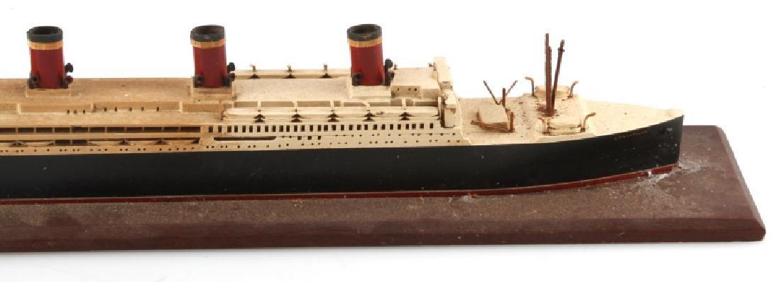 ANTIQUE LEVIATHAN SHIP MODEL - 5